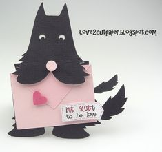 i love 2 cut paper: made with an electronic cutter....but so cute