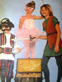 Vintage Butterick Halloween Costume Pattern by TheIDconnection, $45.00