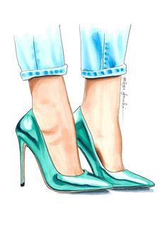 Elza Fouché Illustration @elzafoucheartist Shop at elzafoucheart.etsy.com
