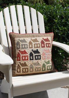 Schoolhouse cushion