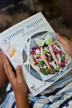 Yummy Supper: A TASTE OF WHAT'S TO COME {the book + a video + a recipe}