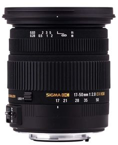 Sigma 17-50mm f/2.8 EX DC OS HSM Canon