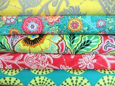 Amy Butler Fabric  LARK 5 Fat Quarter Bundle by FreshFabricsAust, $19.25