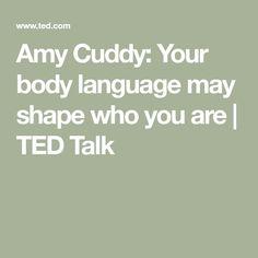 amy cuddy body language essay