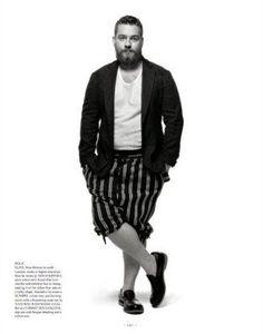 moda plus size masculina - Pesquisa Google