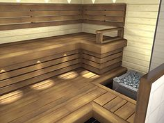 Nagare D laude Traditional Saunas, Sauna Design, Spa Rooms, Home Spa, Relax, Stairs, Interiors, Bathroom, Places