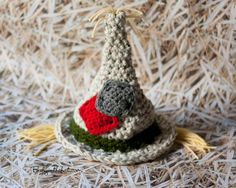 Newborn Scarecrow Hat Halloween Fall Crochet.Halloween crochet #2014 #Halloween