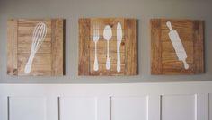 Afbeeldingsresultaat voor wandversiering keuken