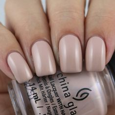 China Glaze I'll Sand By You swatched by Olivia Jade Nails Jade Nails, Olivia Jade, New China, China Glaze, Swatch, Nail Polish, Pretty, Ongles, Nail Polishes