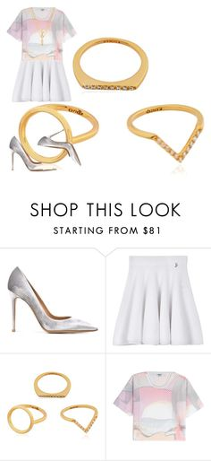 """""""Untitled #1648"""" by misnik ❤ liked on Polyvore featuring Gianvito Rossi, Kenzo, outfit, kenzo, WhatToWear and fashionset"""