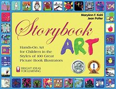 Storybook Art: Hands-On Art for Children in the Styles of 100 Great Picture Book Illustrators (Bright Ideas for Learning (TM)) by MaryAnn F. Kohl http://www.amazon.com/dp/093560703X/ref=cm_sw_r_pi_dp_K6N6vb0N3C4QZ