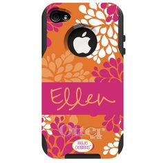 Custom Otterbox....I love my pink Otterbox case for my Iphone....but I really want one of these custom ones!