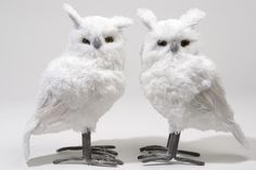 Plush Owl with Glitter | Southern Blossoms Winter Holiday Decor