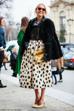 Midi Skirt // PFW Paris Fashion Week