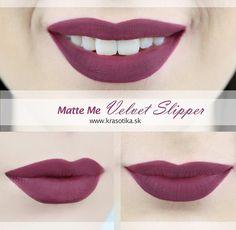 Krásny odvážny odtieň Velvet Slipper zvýrazní pery každej ženy <3
