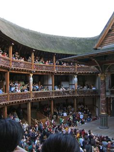 The Globe Theatre, Southwark, London - Shakespeare's Globe is a reconstruction of the Globe Theatre, an Elizabethan playhouse in the London Borough of Southwark, on the south bank of the River Thames that was originally built in 1599, destroyed by fire in 1613, rebuilt in 1614, and then demolished in 1644. The modern reconstruction is an academic approximation based on available evidence of the 1599 and 1614 buildings.