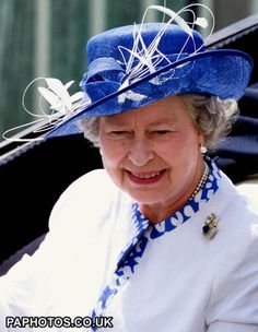 Britain's Queen Elizabeth II arrives for the start of racing at Royal Ascot