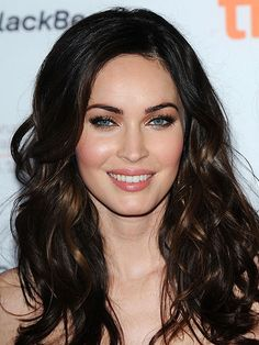 """I was born with a straight-up unibrow. I've been plucking since I was - Megan Fox Megan Fox Hair, Megan Denise Fox, Amanda, Hair Highlights, Subtle Highlights, Megan Fox Photos, Hair Dos, Her Hair, Portraits"