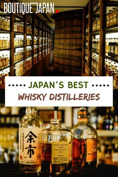 A guide to 6 iconic Japanese whisky distilleries, where you can sample some of Japan's best whisky (it's whisky, not whiskey, in Japan). Japan Travel Agency, Japan Travel Tips, Asia Travel, Whiskey Tour, Whiskey Drinks, Japan Honeymoon, Nikka Whisky, Paris Things To Do, Japanese Travel