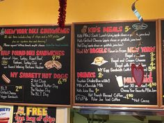 PB and Jellies - Sandwich Menu Board