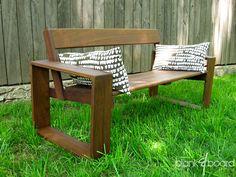 furniture - Atlanta, Georgia contemporary outdoor patio furniture (custom and handmade)   plank