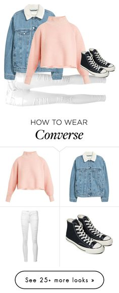 """Theo Raeken inspired"" by samtiritilli666lol on Polyvore featuring Frame, Vika Gazinskaya and Converse"
