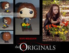 Hope Mikaelson Custom Funko Pop - The Originals - Custom Funko Pop Obsession Vampire Diaries Outfits, Vampire Diaries The Originals, Pop Figures, Vinyl Figures, Action Figures, Funko Pop Dolls, Custom Funko Pop, Hope Mikaelson, Original Vampire