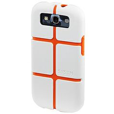 SYSTM Chisel Case for #Samsung Galaxy S III - White/Orange $34.95 From #DayDeal