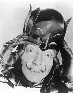 Dalí as Batman