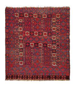 Ersari ensi Turkmenistan, mid 19th century 5ft. 2in. x 4ft. 8in.