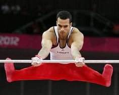 Danell Leyva competes in the high bar during the men's gymnastic artistic final at the North Greenwich Arena during the London 2012 Olympics on Monday, July 30, 2012 in London.