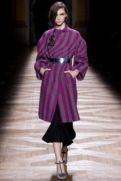 Dries Van Noten Fall 2014 Ready-to-Wear Fashion Show - Larissa Marchiori (Elite)