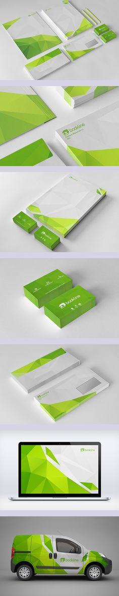 Bookline Rebranding | #stationary #corporate #design #corporatedesign #identity #branding #marketing < repinned by www.BlickeDeeler.de