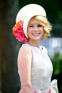 Ascot hats.  Just Darling!