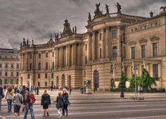 Bebelplatz in Berlin Eccentric, Berlin, Germany, Louvre, University, Building, Travel, Viajes, Buildings