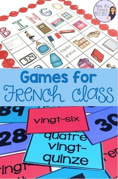 French Verbs, French Grammar, French Teaching Resources, Teaching French, Learning Resources, Teaching Time, Teaching Reading, Teaching Ideas, High School French
