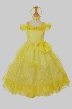 I would've killed for a dress like this when I was little! haha ;) Disney Flower Girl Dress