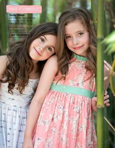 #ClippedOnIssuu from Pandalicious by Katarina Rochelle; dresses made by Because of Brenna