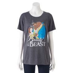 Disney's Beauty and the Beast Juniors' Classic Graphic Tee, Teens, Size: Small, Grey Disney Bound Outfits Casual, Disney Outfits, Cool Outfits, Casual Outfits, Beauty And The Beast Party, Belle Beauty And The Beast, Juniors Graphic Tees, Taylor Swift Outfits, Disney Inspired Fashion