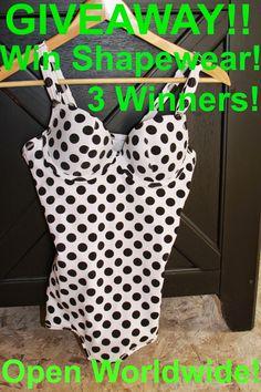 MyStyleSpot: Polka Dots for Fall and a Fabulous ShapeWear GIVEAWAY. Ends Dec 2. 2014 OPEN WORLDWIDE! 3 WINNERS will win shape wear from #vedette and #mystylespot #contest #win Sweepstakes #giveaway #shapewear #bustier #bathingsuit #swim #swimwear #pokadots #fashion #style #shape #shopping #apparel #women #clothing #shop