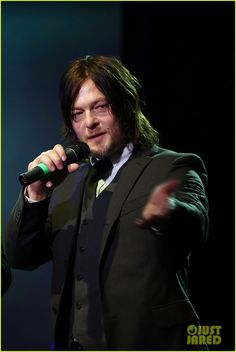 Norman Reedus Celebrates 'The Walking Dead' at AMC Ad Sales Event!