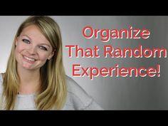 Resume: Organizing Random Work Experience | CareerHMO