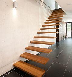 Eingespannte Stufen