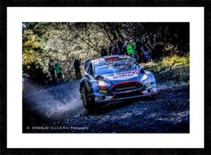 Kubica Wales Rally GB 2015 (SKP) 16''x12''