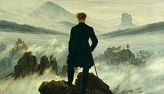 Kunsthalle Hamburg: Caspar David Friedrich - Wanderer über dem Nebelmeer, um 1817