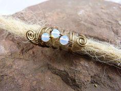 """Weiteres - Dreadschmuck """"Secret"""" Opalith Dreadperle bronze - ein Designerstück von Caracoletta bei DaWanda"""