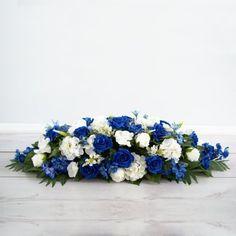 Royal Blue Large Top Table Arrangement