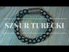 Sznur szydełkowo koralikowy - Ukośnik [TUTORIAL]   Qrkoko.pl - YouTube