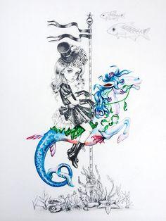 Deep Sea Rider | Julie Filipenko