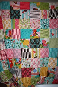 """simple """"hoot quilt"""""""